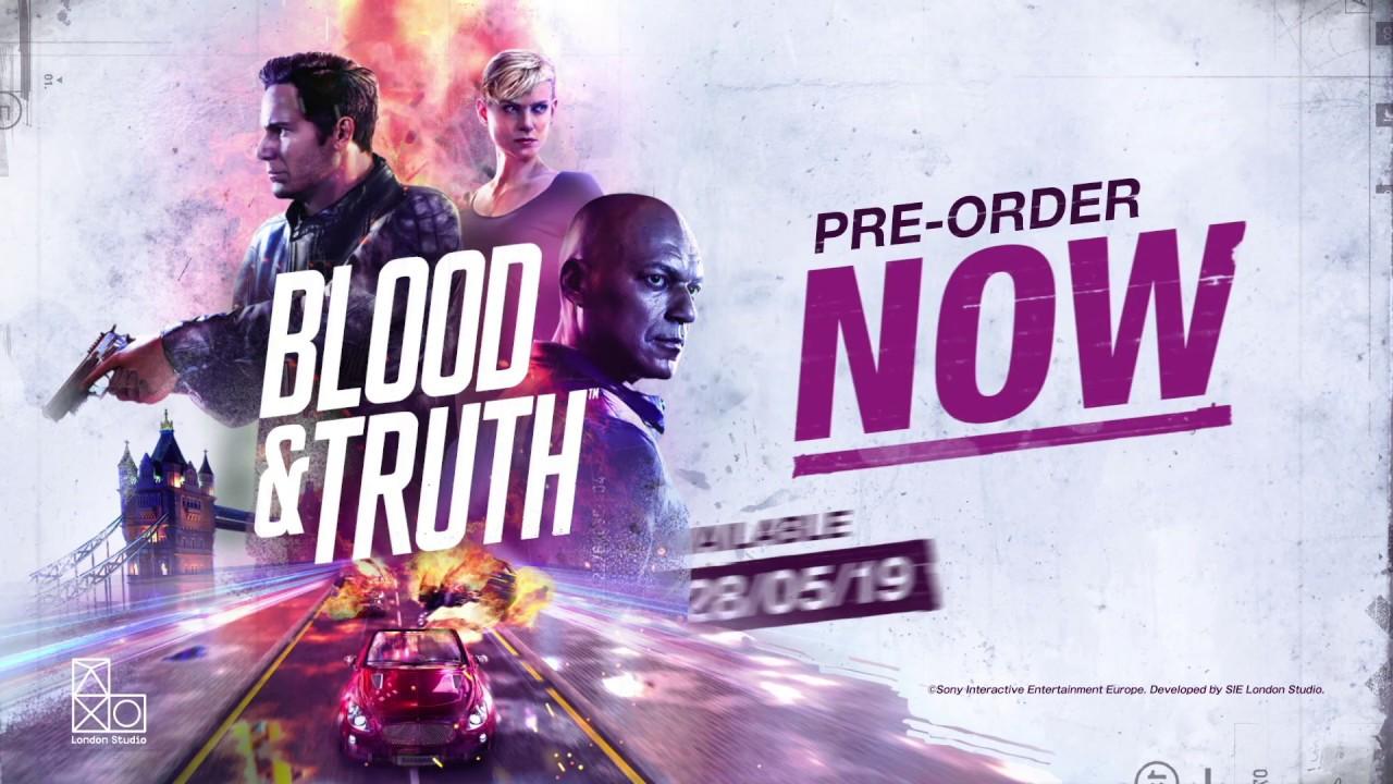 PS VR용 Blood & Truth 신규 트레일러