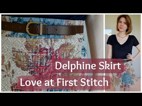 Tilly and The Buttons Love at First Stitch: Delphine Skirt