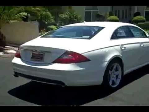 2008 Mercedes Benz Cls 550 Diamond White Edition Youtube