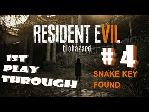Use the Crow Key to find the Snake Key..Resident Evil 7