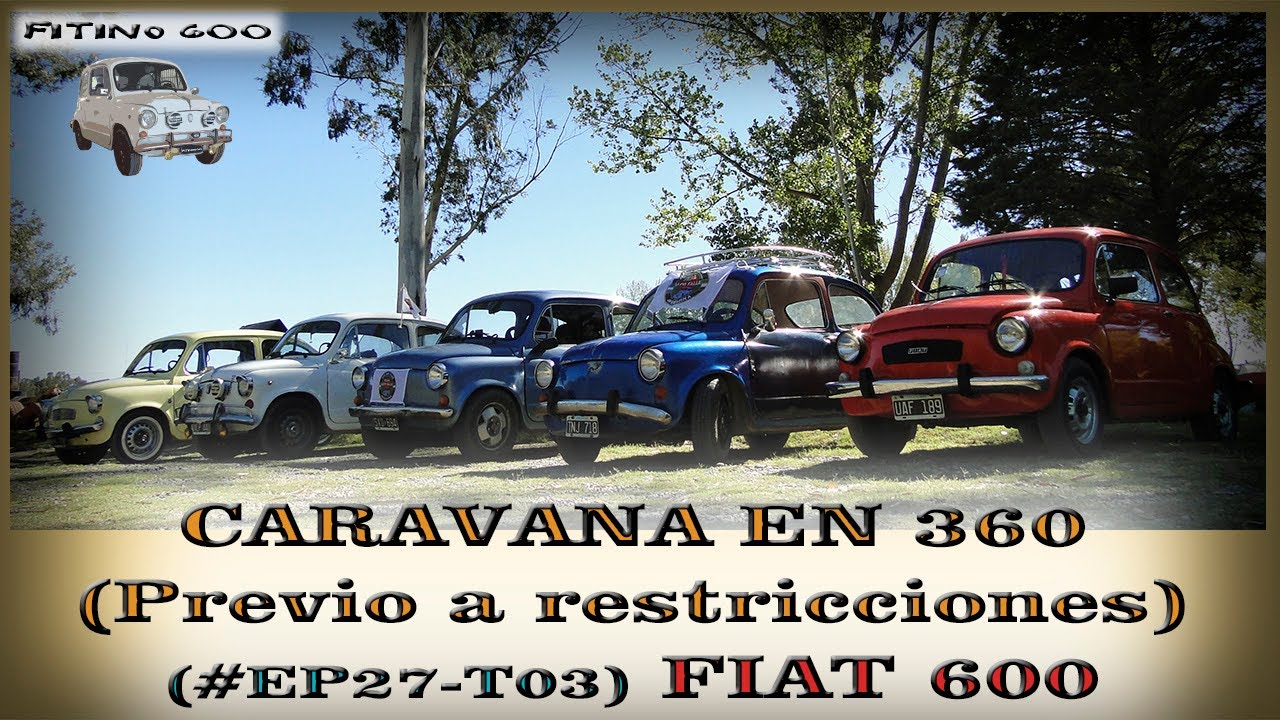 POV Fiat 600 Caravana Ep27T03 / #Fiat600 #POV #Fitino600