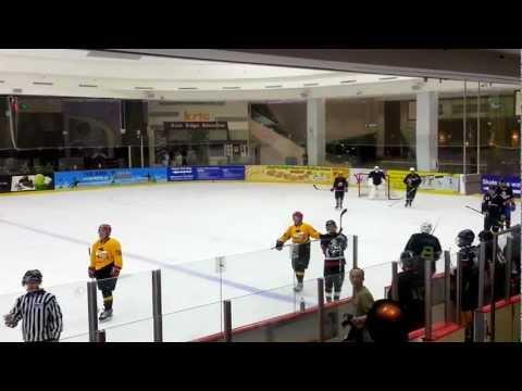 Singapore Ice Hockey League 16 Sep 12 Div 2 SIHA vs Blooies