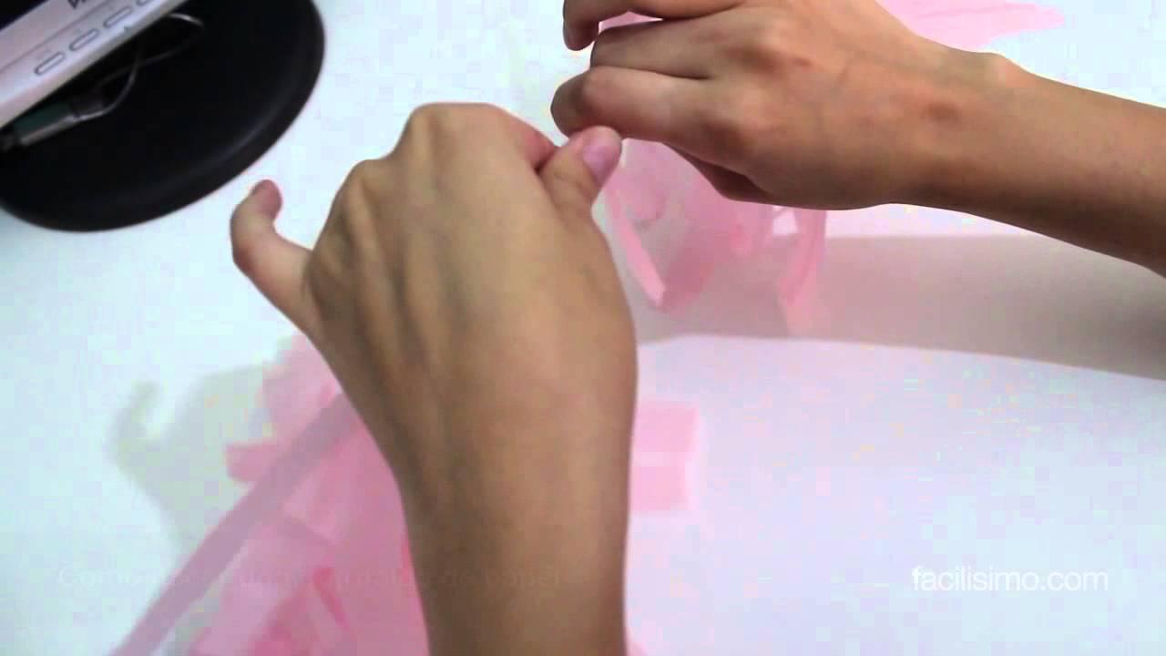 Cómo hacer una guirnalda de papel | facilisimo.com - YouTube