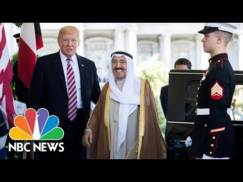 President Donald Trump, Emir of Kuwait Hold WH Press Conference (Full) | NBC News