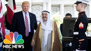 President Donald Trump, Emir of Kuwait Hold WH Press Conference (Full)   NBC News