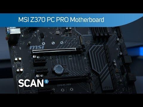 MSI Intel Z370 PC PRO Coffee Lake ATX Motherboard LN84375