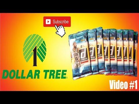 10 Dollar Tree Packs of Panini Donruss NBA Basketball.