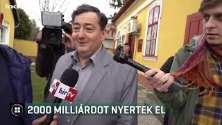 Kétezer milliárd forintnyi közbeszerzést nyertek el Mészáros és Szijj László cégei 19-12-06