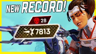 A New Record Game With Rampart! 8K Damage, 28 Elims! But Did I Deserve It? | Apex Legends
