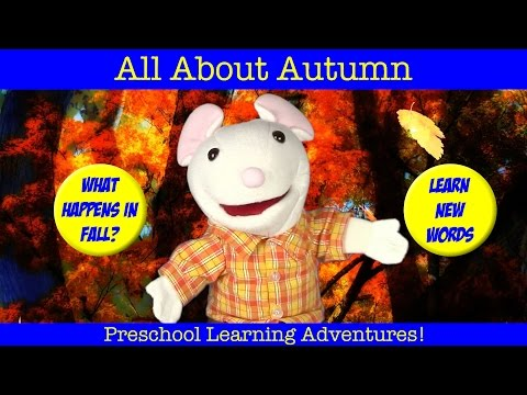 LEARN ABOUT FALL, AUTUMN | Learning Seasons For Children | Preschool, Kindergarten Vocabulary