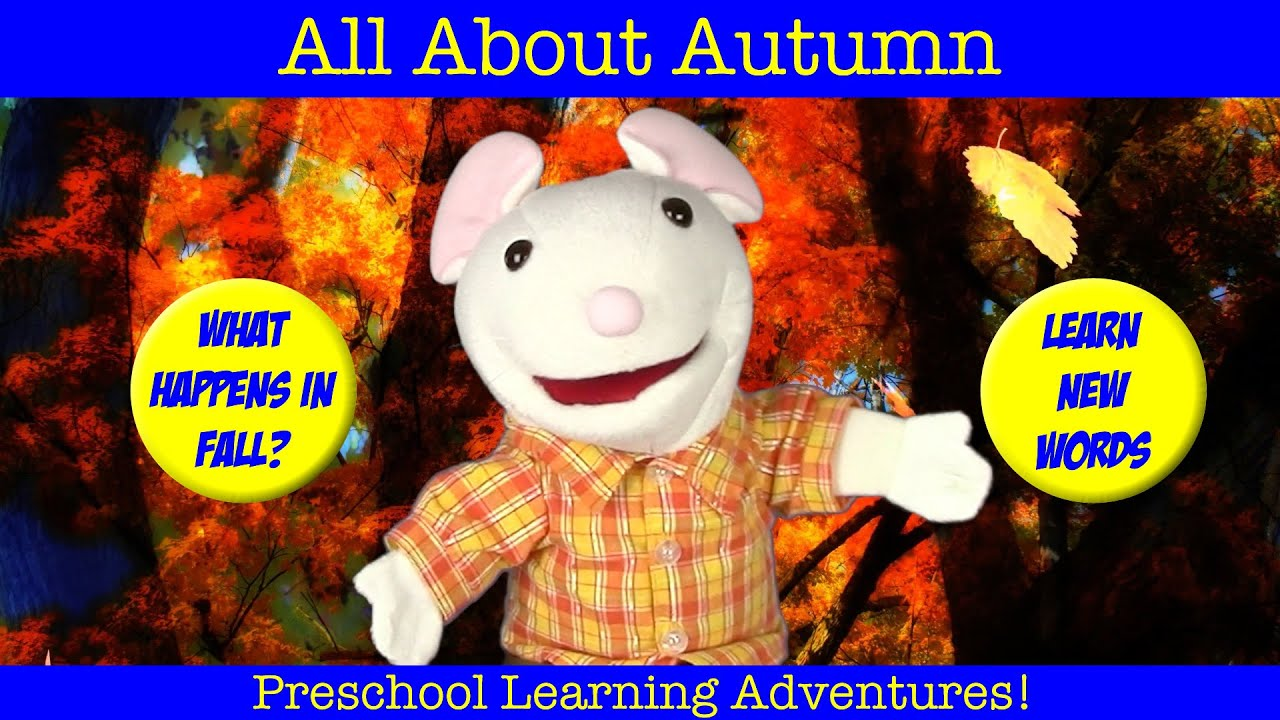 learn about fall autumn learning seasons for children