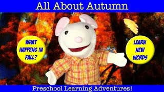 LEARN ABOUT FALL AUTUMN Learning Seasons For Children Preschool Kindergarten Vocabulary
