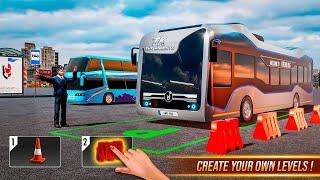 Modern Bus Simulator New Parking Games - Bus games screenshot 2