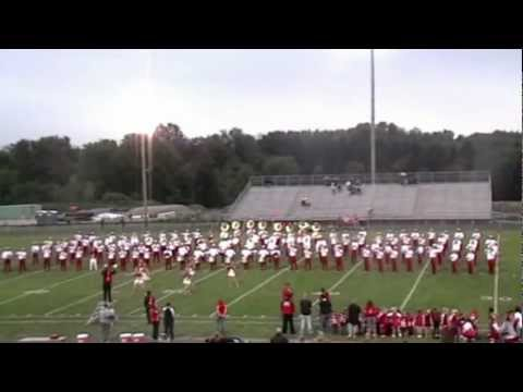 Springfield High School 2012 Marching Band.. collection / highlights