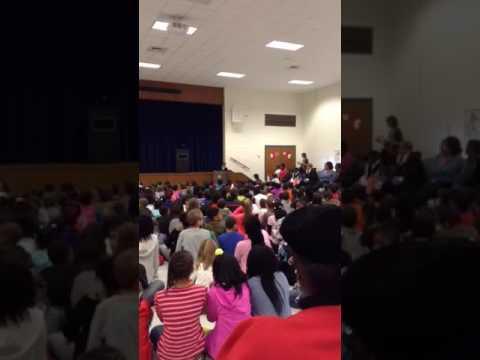 Fayetteville elementary school wax museum closingspeech