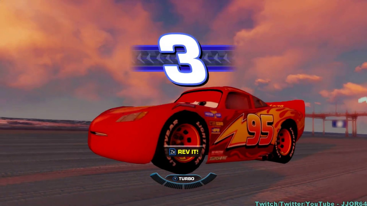 Cars 3 Driven To Win Switch Gameplay Footage 1080p Youtube