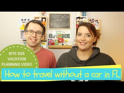 HOW TO TRAVEL WITH OUT A CAR | BITE SIZE VACATION PLANNING VIDEO | KRISPYSMORE | 2017