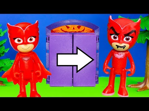 PJ Masks asks Whats Inside Scoobys Spooky Lunchbox with Alvin and the Chipmunks