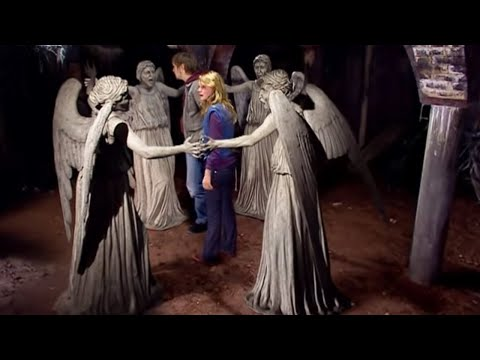 The Weeping Angels attack!  Blink  Doctor Who  BBC