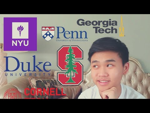 Reacting To College Transfer Decisions (Stanford, Duke, Cornell, UPenn, NYU, GTech)