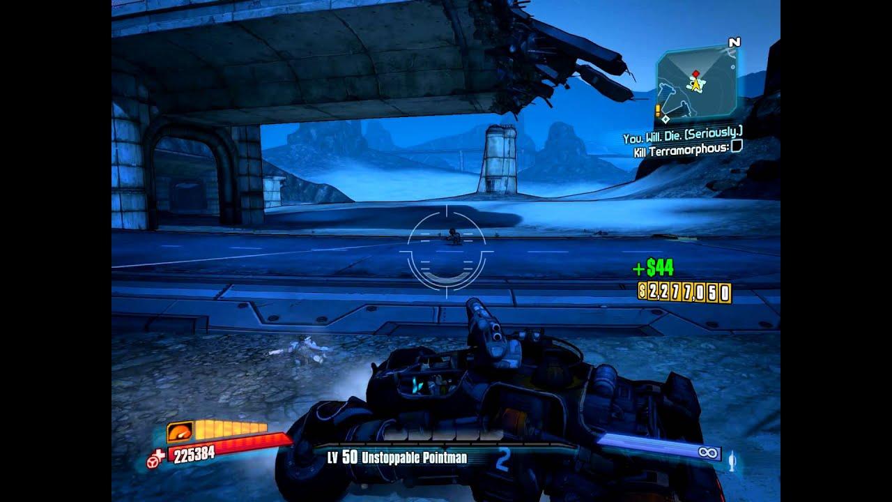 Borderlands 2 Torgue DLC - Death Race Tier 3 exploit/cheat