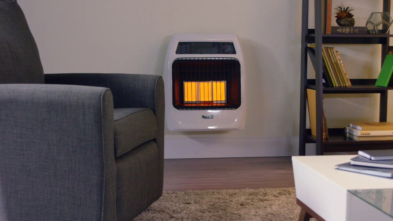 Dyna Glo Signature Series 18 000 Btu Infrared Wall Heater