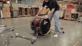 Building Hannah Ford's Drum Rack For Prince's 2013 Tour