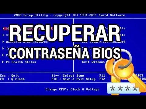 Cómo recuperar la contraseña de la BIOS www.informaticovitoria.com
