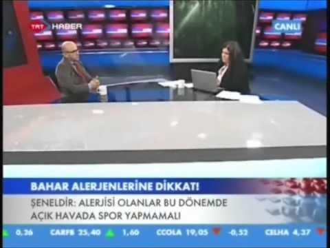 Op.Dr.Süreyya Şeneldir - Polen, ev tozu, akarlara bağlı nezlede Rhinolight ( Trt Haber )