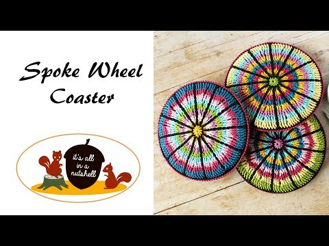 Spoke Wheel Coaster