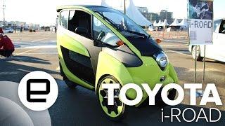 Toyota I-Road Test Drive