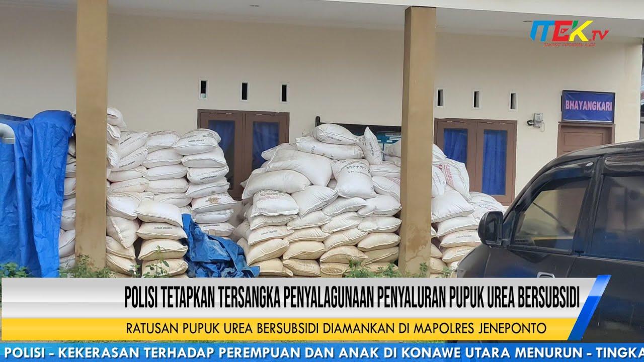 Polisi Tetapkan Tersangka Penyalagunaan Penyaluran Pupuk Urea Bersubsidi
