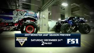 Monster Jam 2017 Preview show on FS1 – Dec 24 2016