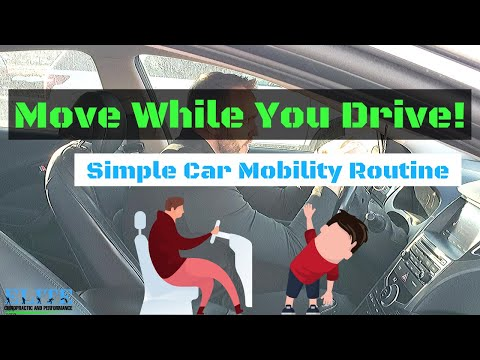 Reduce Pain While Driving   Car Mobility Routine   Chesterfield Chiropractor