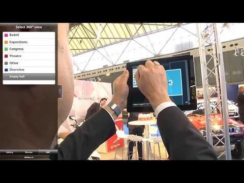 RAI Amsterdam Virtual Tour app
