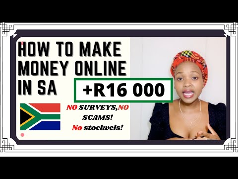 HOW TO MAKE MONEY ONLINE IN SOUTH AFRICA **Legit * * | SOUTH AFRICAN YOUTUBER