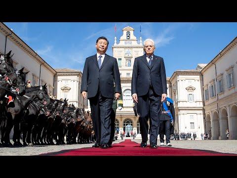 Congedo del Presidente della Repubblica Popolare Cinese Xi Jinping, in Visita di Stato
