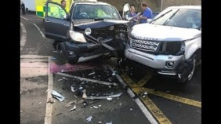 Failing To Give Way Collision UK Dash Cam