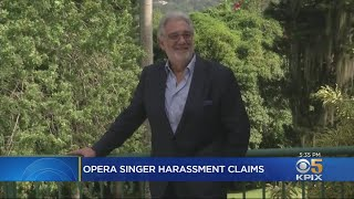 SF Opera Cancels Placido Domingo Concert After Allegations Of Sexual Harassment