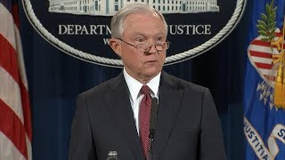 Attorney General Jeff Sessions makes announcement on DACA program