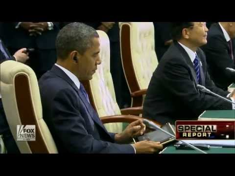 Obama : President Barack Obama credited for brokering Mideast cease-fire (Nov 23, 2012)