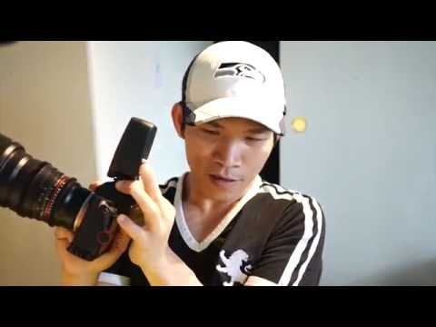 Review Youngnuo 560 IV cho sony E mout sony r7rii