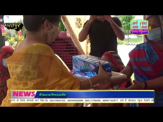 भरतपुर सेना स्टेशन पर भारतीय सेना ने स्वर्णिम विजय दिवस मनाया