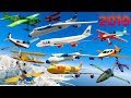 GTA V: 2019 New Year's Day Best Every Airplanes Longer Crash and Fail Compilation