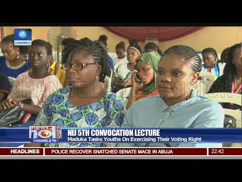 5th NIJ Convocation Lecture: Maduka Asks Journalists To Shun 'Brown Envelope'