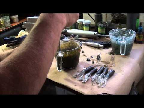 Shooting 2 color soft plastic Tubes