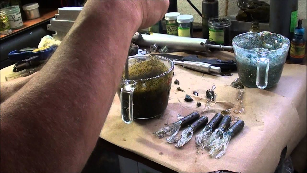 shooting 2 color soft plastic tubes - youtube, Soft Baits
