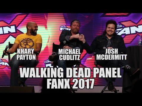 Walking Dead Panel at FanX 2017