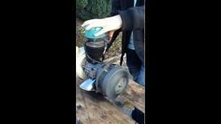 Démarrage moteur solex 5000