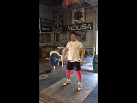 Floating Power Clean